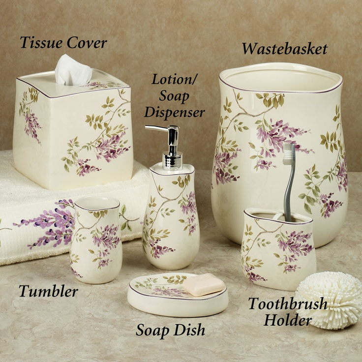 Wisteria Porcelain Bath Accessories Quot Beautiful Bath