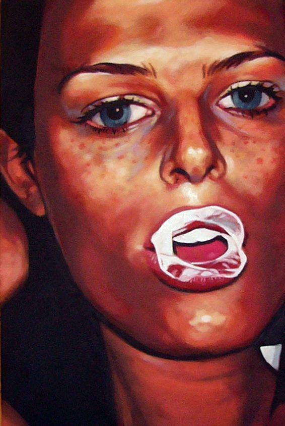 dream painting valentine hugo