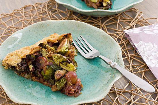 Brussels Sprout & Grape Galette | Recipe