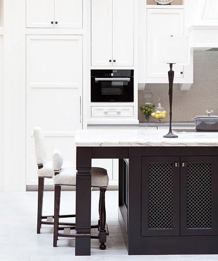 charcoal kitchen island  Wonderful White  Pinterest
