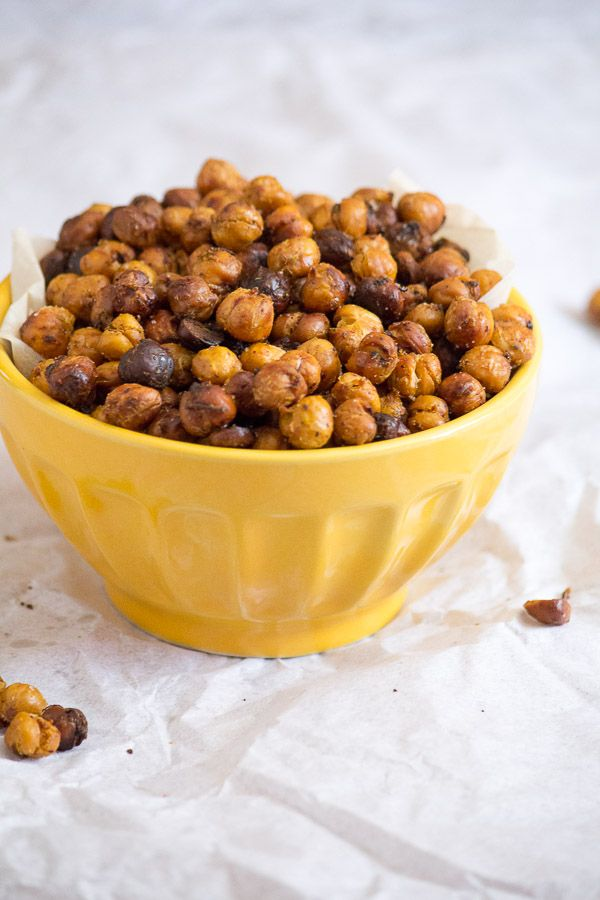 Chili Lime Roasted Chickpeas | Recipes Online | Pinterest