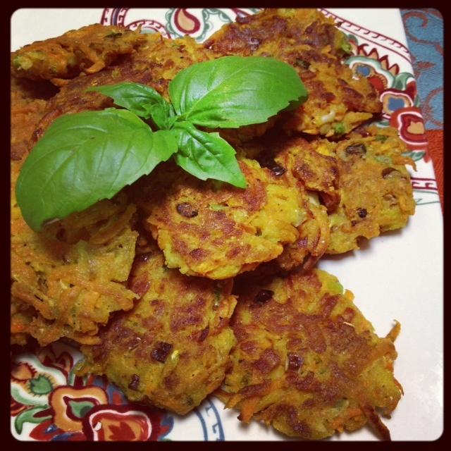 Sweet Potato Zucchini Latkes | Gluten Free Recipes | Pinterest