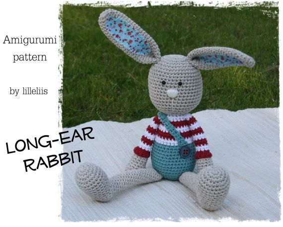 Amigurumi Rabbit Ears : Pin by Ewa Evans on Amigurumis Pinterest