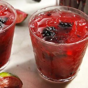 Blackberry and Cabernet Caipirinha - Made with cachaca, a spirit ...