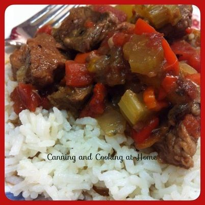 Pepper Steak, slow cooker | Recipes - Oriental | Pinterest