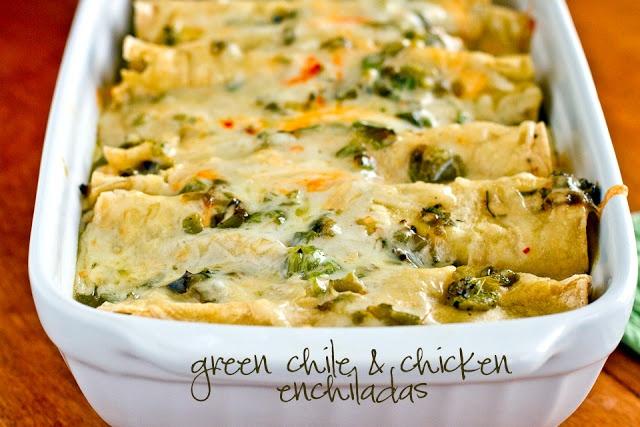 Beer Chicken Green Chile Enchiladas Recipes — Dishmaps