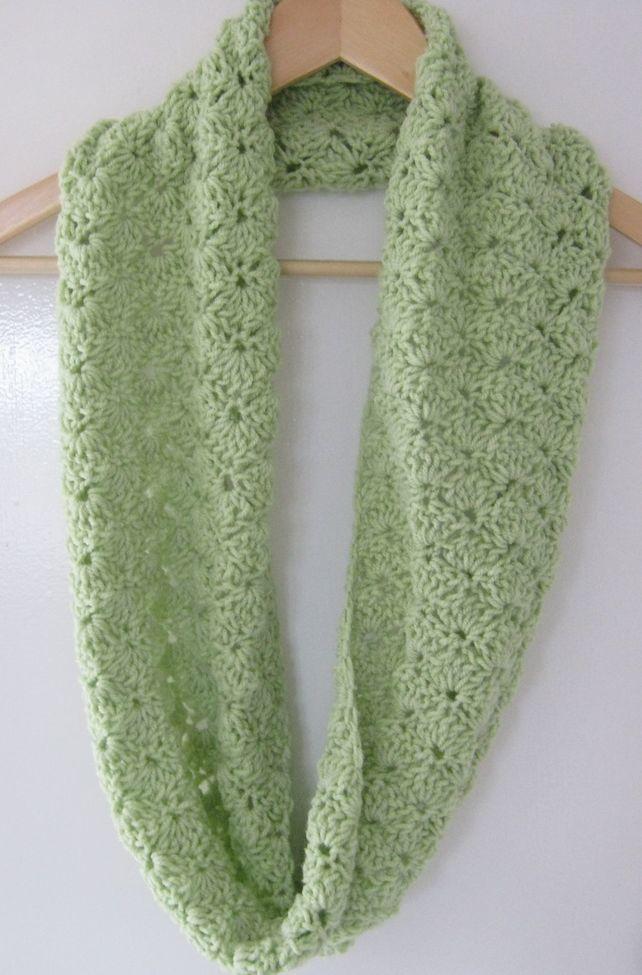 Crochet infinity scarf ?18.00