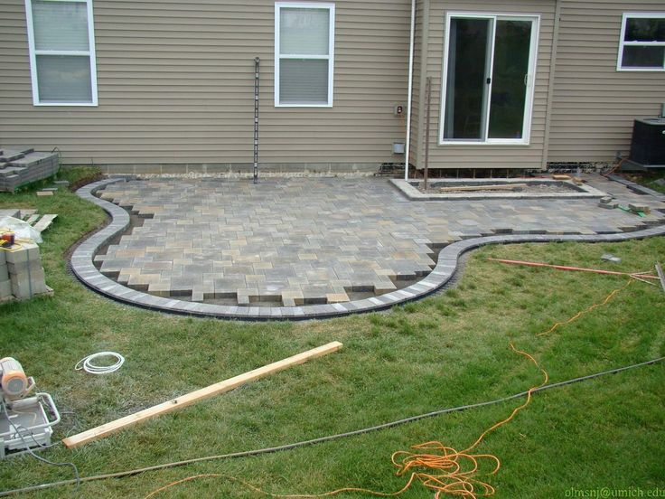 More of the same stone patio paver firepit designs for Pinterest patio pavers