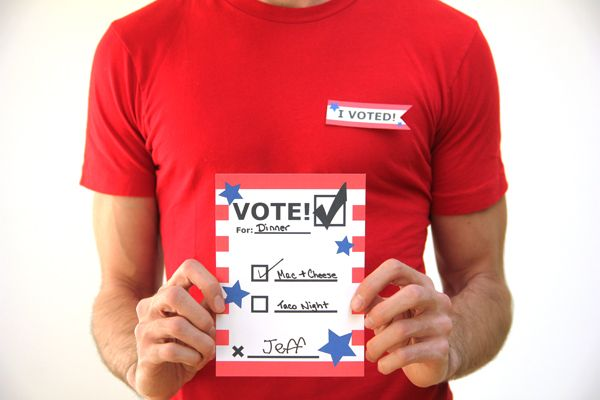 DIY Printable Voting Ballots | Classy Crafts for the Classy Classroom ...