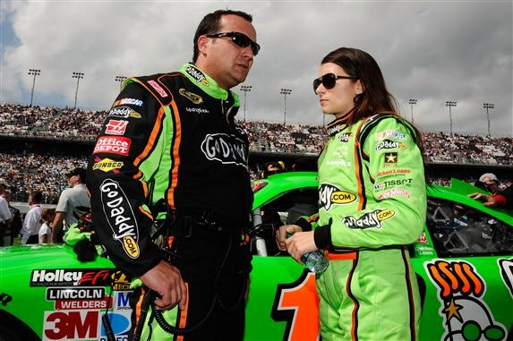 From disappointment to celebration: Danica Patrick bounces back after hard wreck. Written by Rebecca Kivak.  (Photo Credit: Jared C. Tilton/Getty Images for NASCAR)