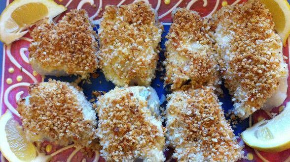 FISH BAKE~ replace bread crumbs with 'nut crumbs' and create a ...
