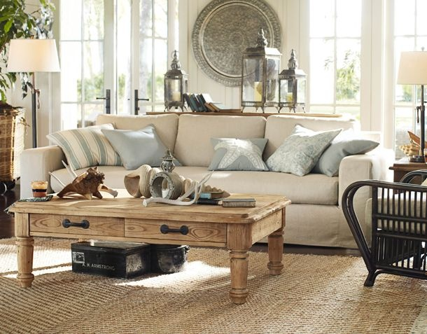 living room pottery barn decorating family rooms