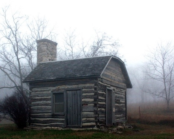 Log Cabin Late 1800 Simplicity Pinterest