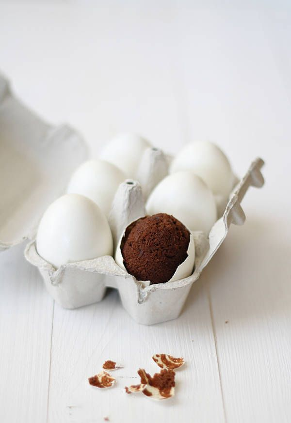 How to Bake a Brownie in an Eggshell