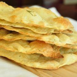 Rosemary Sea Salt flatbreads. | Food: Snack/Dessert/Appetizer | Pint ...