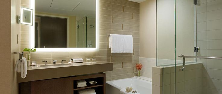Silhouette Lighted Mirror Restrooms Pinterest