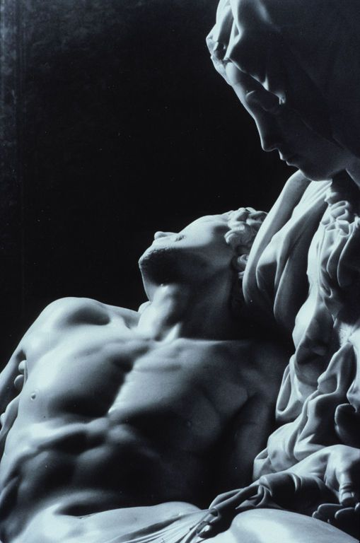 Michelangelo, La Pieta _    I want to see this in person!! I love love LOVE this sculpture!!!  I have a small replica at home....