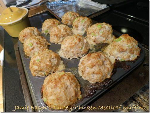 Chicken Meatloaf Muffins | YUM! | Pinterest
