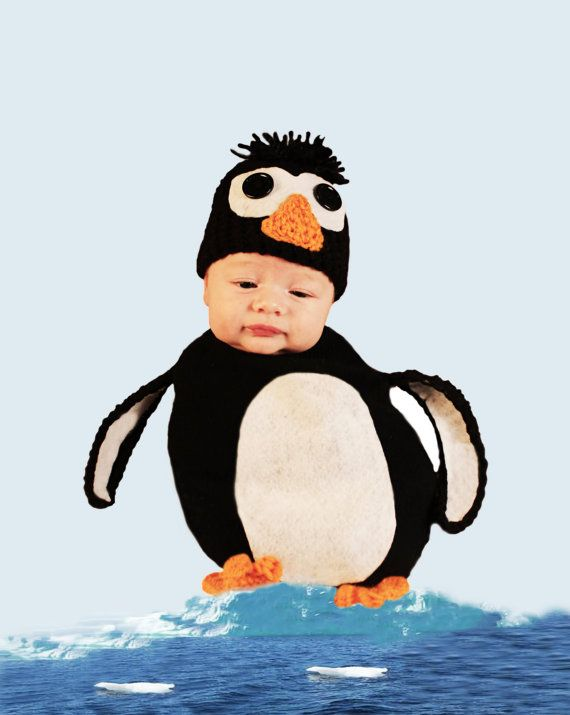 Newborn baby penguin cocoon and hat set by shortycrochet   35 00Newborn Baby Penguin