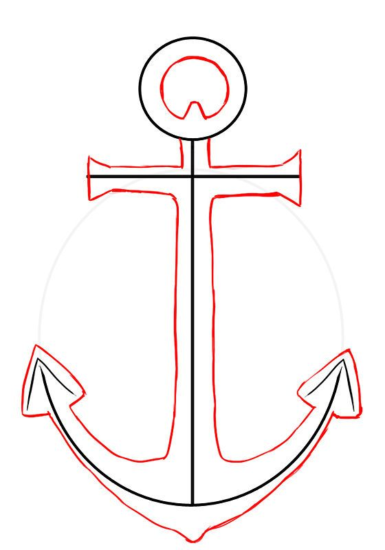 Draw an Anchor - wikiHow | Buz Graphic logo ad