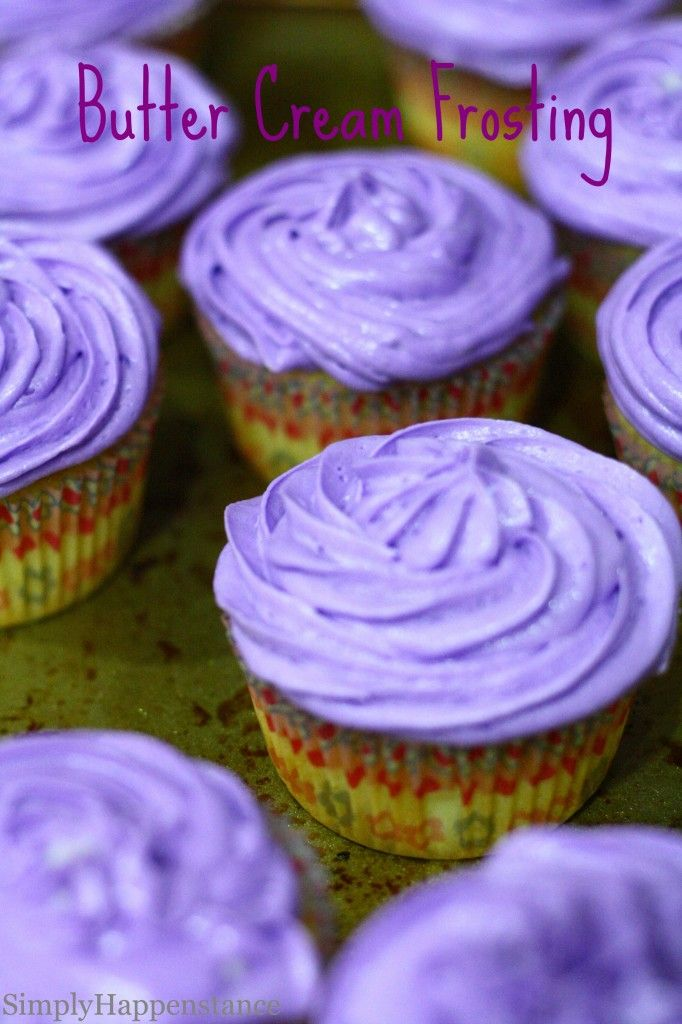 "Butter Cream Frosting Mix half milk with half ""half and half"" Add l..."