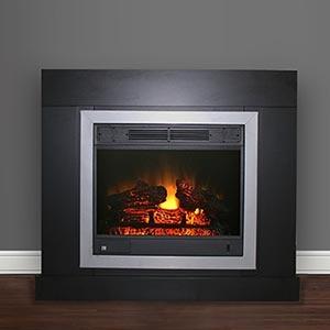 Costco Samara Electric Fireplace Man Cave Pinterest