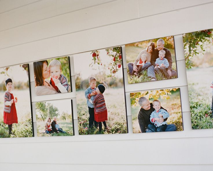 Fall Family Portraits On Canvas