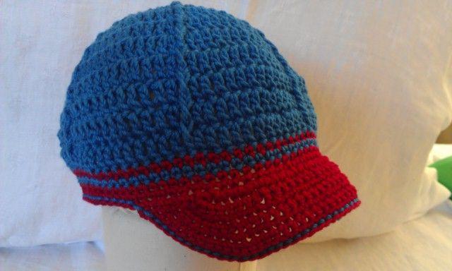 Crochet Pattern Baseball Cap : Pin by Katie Hibbs on Spring Creek baby hats Pinterest