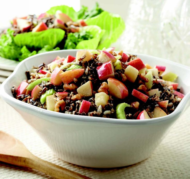 Wild Rice Salad with Apples and Walnuts | Simply Delicious: The Costco ...