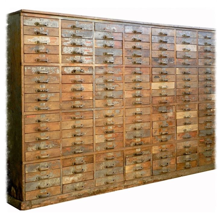 1800s Drawer cabinet