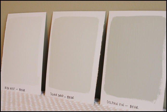 Behr Silver Drop Paint Colors Pinterest