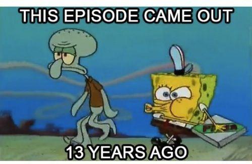 Growing Up Spongebob Grown Up