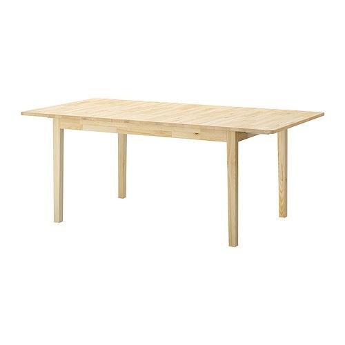 Ikea pine expandable table home pinterest - Expandable table ikea ...