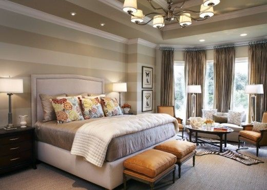 Dramatic Striped bedroom Wall Ideas | Pichomez.com 2012 | Architecture | Home Design | Interior and Decorating Ideas