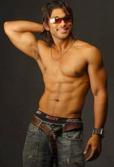 Ohhh those abs!!! | Allu Arjun | Pinterest