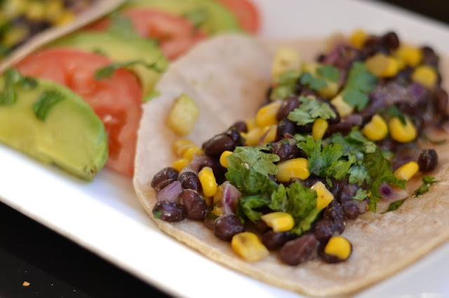 Black Bean, Corn, and Zucchini Tacos | Type A Kitchen | Pinterest