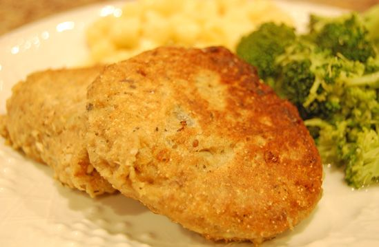 Salmon Patties: 3p+ per baked patty NOTE: I baked them for 25-30 mins ...