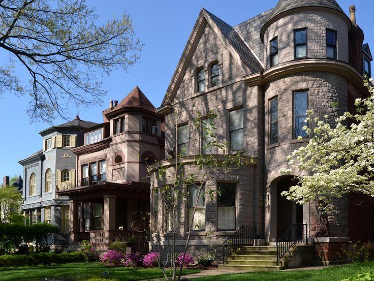 Old Louisville Victorian Houses Pinterest