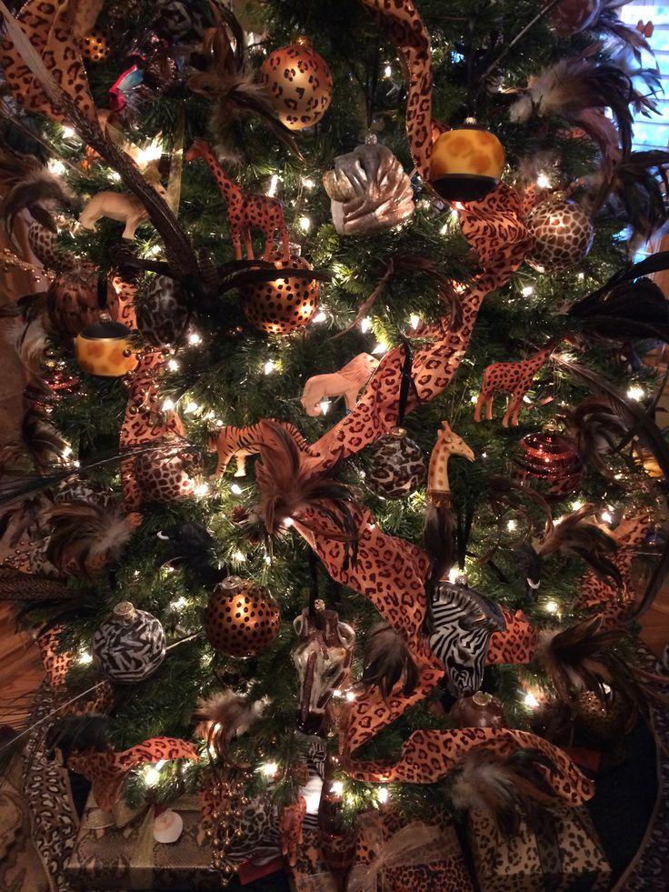 Animal Print Christmas Tree Decorations. | Luxury Christmas | Pintere ...