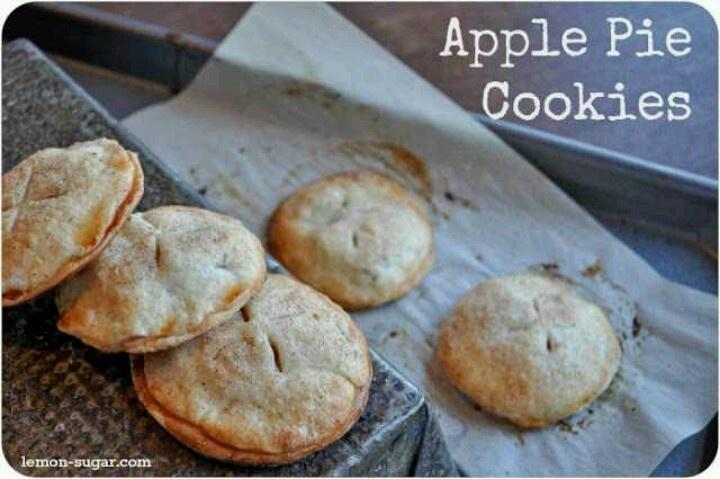 Apple pie cookies | recipes | Pinterest