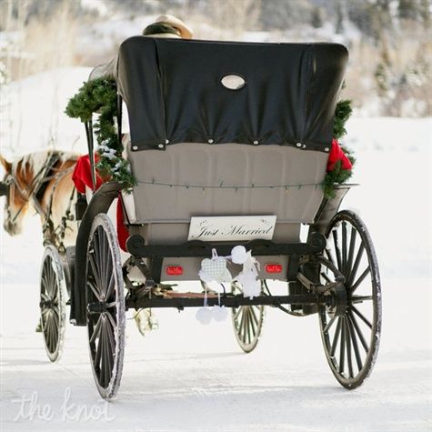 Horse-drawn Carriage Exit