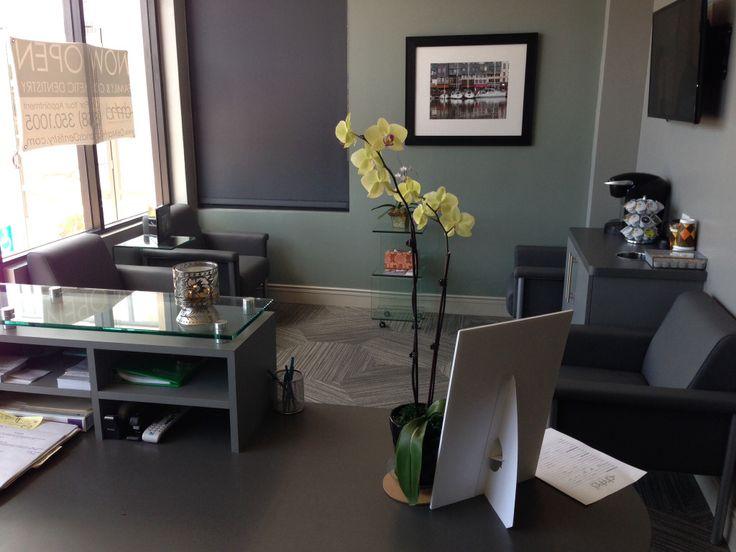 Reception Waiting Room Dental Office Design Ideas
