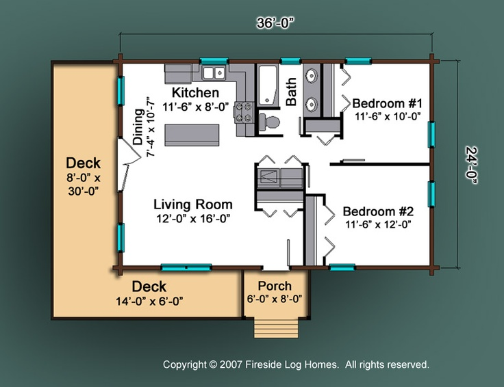 Etowah Floor Plan