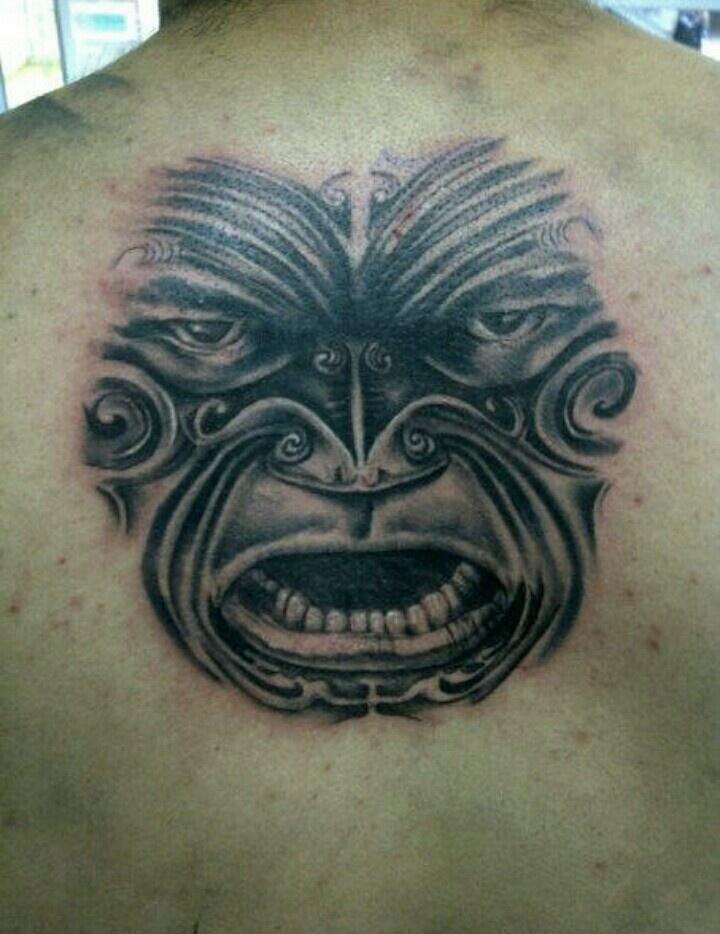 maori warrior tattoo my work pinterest. Black Bedroom Furniture Sets. Home Design Ideas