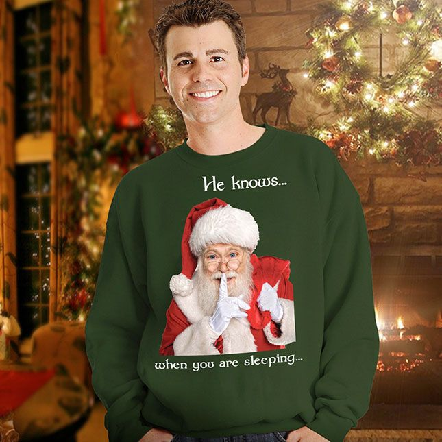 30 of the Tackiest Christmas Sweaters Ever - This is completely creepy