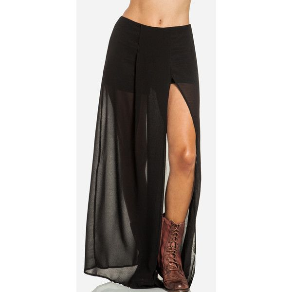 sheer maxi skirt 40 fashion