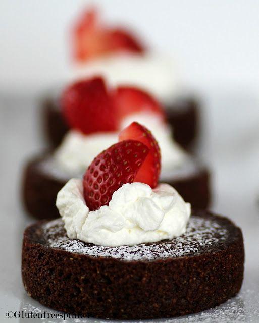 Chocolate Financiers | Baking idea | Pinterest