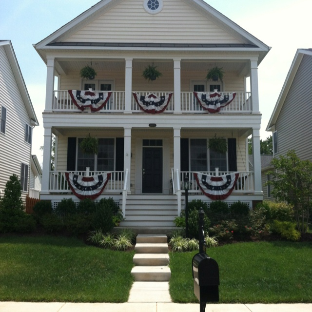 july 4th house decorations