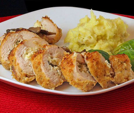 Recipe: Chicken Stuffed with Goat Cheese and Basil ... This recipe ...