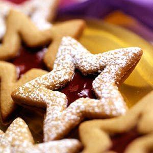 Sparkling Linzer Stars | Recipe